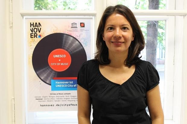 Wir führten 2017 sehr viele Interviews mit freundlichen und interessanten Menschen, darunter mit Hannovers UNESCO-City-Of-Music-Koordinatorin Alice Moser. Foto (c) Sabrina Kleinertz (Bild 3)