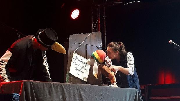 Spannung und großer Spaß: Das Musiktheater Der Reggaehase Boooo auf dem Heimatzoo-Festival in Grindau/Schwarmstedt. Foto (c) Brigitte Haug (Bild 6)