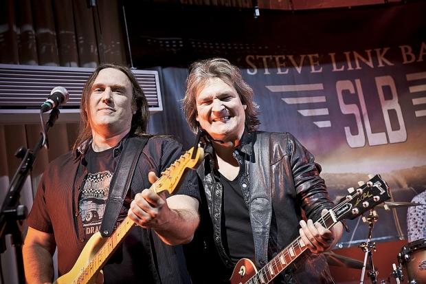 Rock´n´Roll bei PPC Music #1: Martin Huke (links) und Steve Link  (Bild 2)
