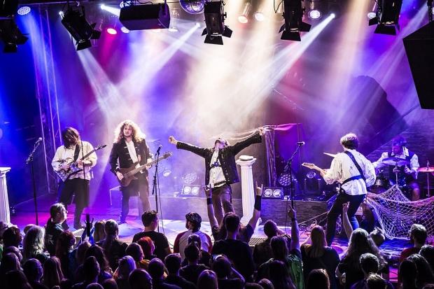 Starke Unterstützung für die Grailknights gab es von der Hamburger Power-Metal-Band Terra Atlantica. (Bild 4)