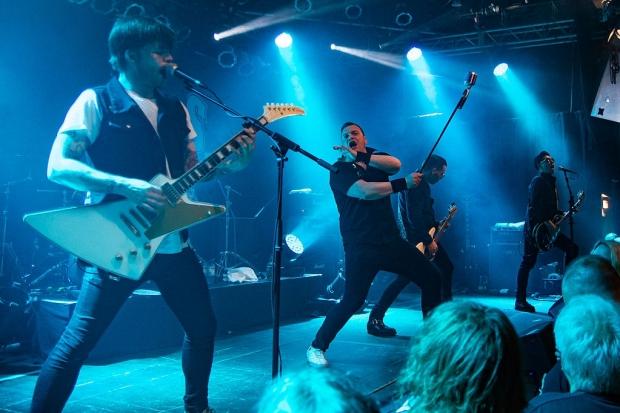 Schneller Rock´n´Roll aus Oslo: The Carburetors beim Nitrofest im MusikZentrum. (Bild 2)