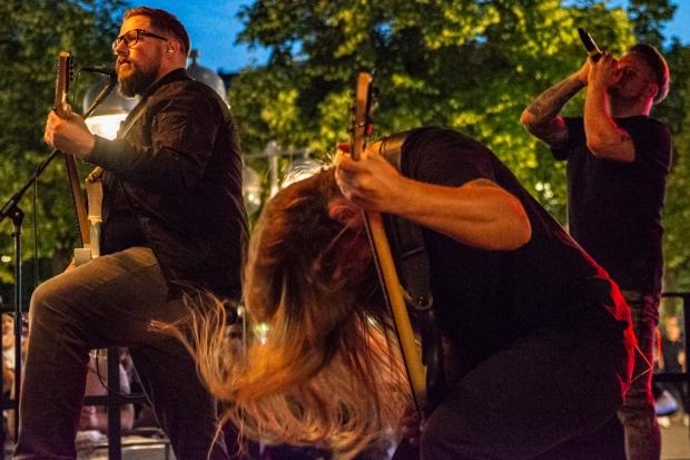 Damnation Defaced auf der Metal-Bühne am Schillerdenkmal (Bild 5)