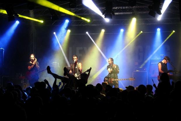 Headliner beim Rock am Deister Festival in Springe/Völksen im Juli war die Alex Mofa Gang. Foto (c) Sabrina Kleinertz (Bild 2)